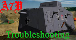 A7V Troubleshooting
